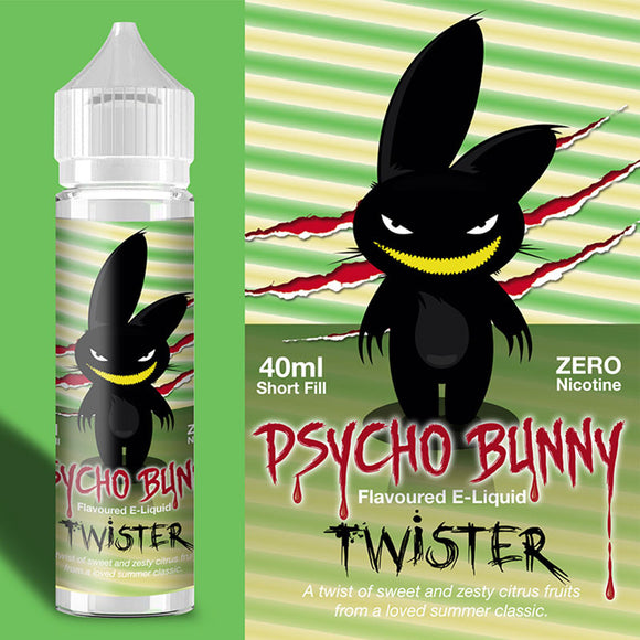 Psycho Bunny - Twister - 40ml / 0mg - Premium E-Liquids & More