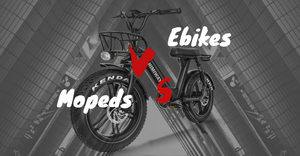 Electric Bikes vs Mopeds: Everything You Need To Know