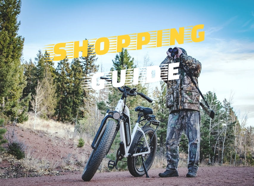 The Shopping Guide of Electric Fat Bikes: What Characteristics Should They have?
