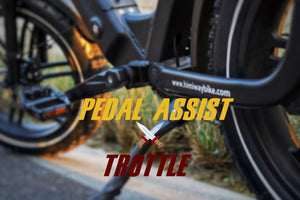 Electric Bike Pedal Assist vs Throttle Mode