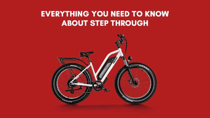 Everything You Need to Know About Step Through Bikes