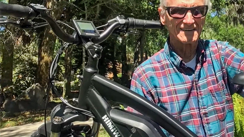 Bill's experience with the Himiway Cruiser e-bike