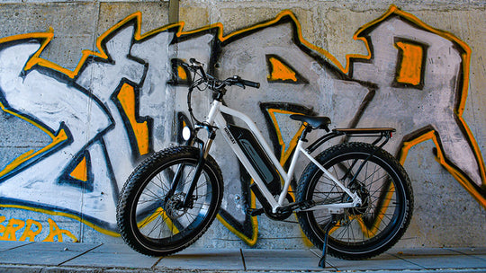 Mountain bike riding tips with Himiway electric fat bike
