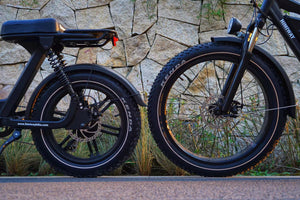 Fat Tire Ebikes vs Plus Size Tire Ebikes