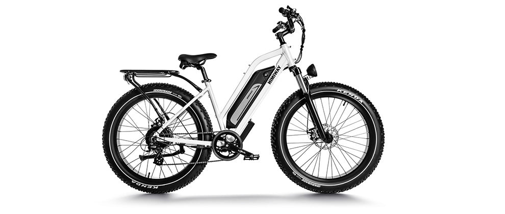 All Terrain step thru Electric Bike