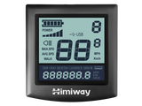 himiway escape ebike lcd display