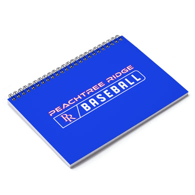 Peachtree Ridge Baseball Spiral Notebook - Ruled Line