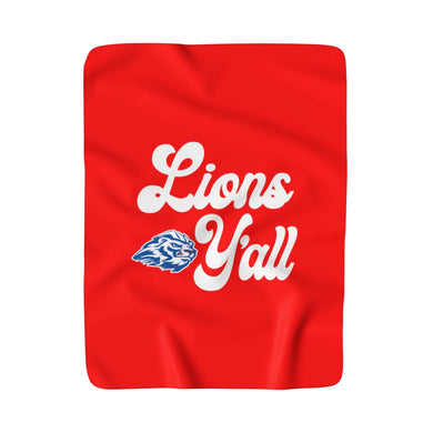 Lions Y'all - Sherpa Fleece Stadium Blanket
