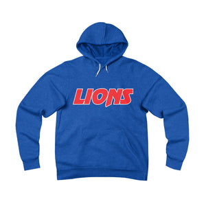 Lions Ladies Sponge Fleece Pullover Hoodie