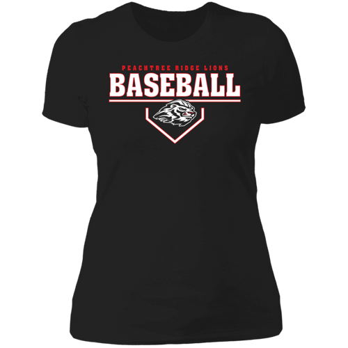 Plate Logo Ladies' Boyfriend T-Shirt
