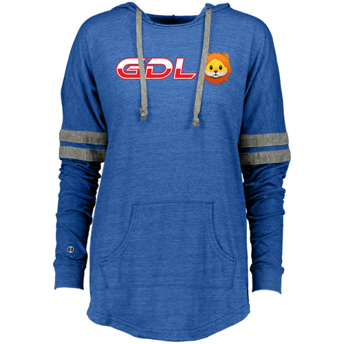 GDL Ladies Hooded Low Key Pullover