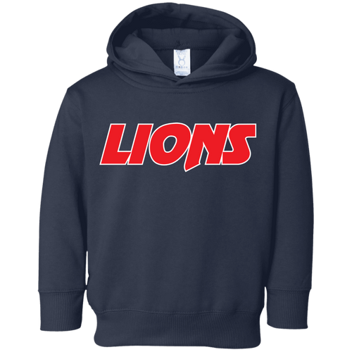 Lions Toddler Fleece Hoodie