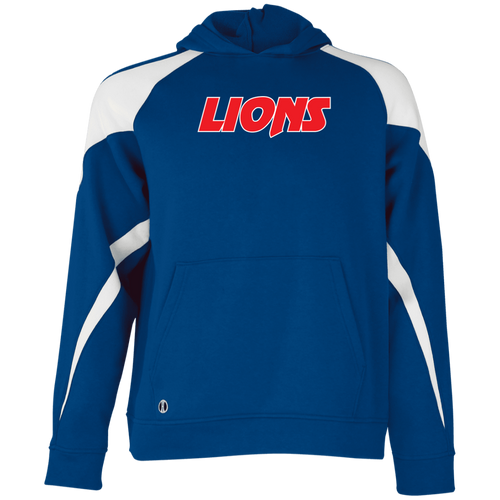 Lions Youth Colorblock Hoodie