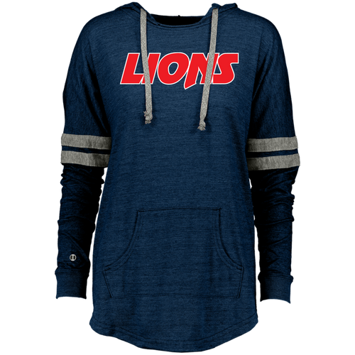 Lions Ladies Hooded Low Key Pullover
