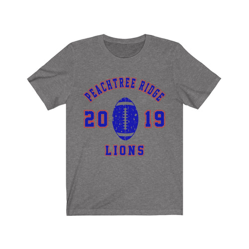 2019 PTR Lions Football Jersey Short Sleeve Tee - Student Special