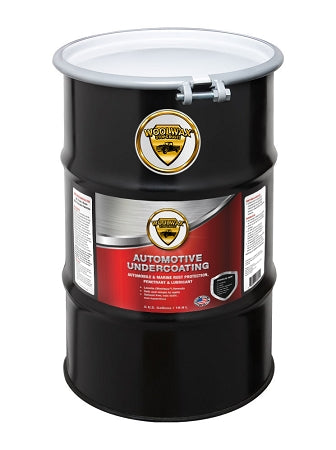 WoolWax® Lanolin Undercoating 55 Gallon Drum. Clear or Black. Free shipping.