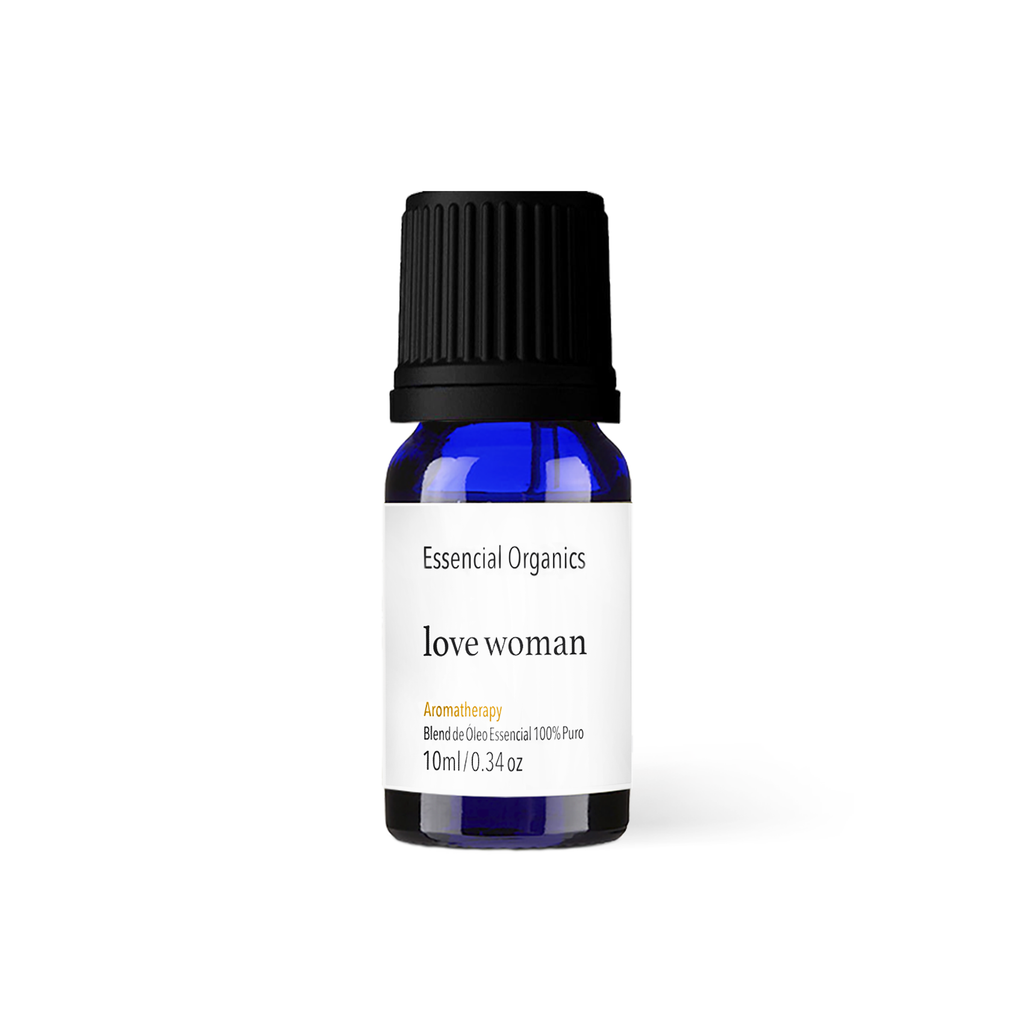 Blend Love Woman de Óleos Essenciais 10ml - Essencial Organics