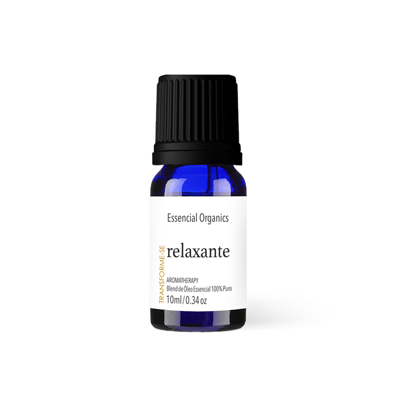 Blend Relaxante de Óleos Essenciais 10ml - essencial organics