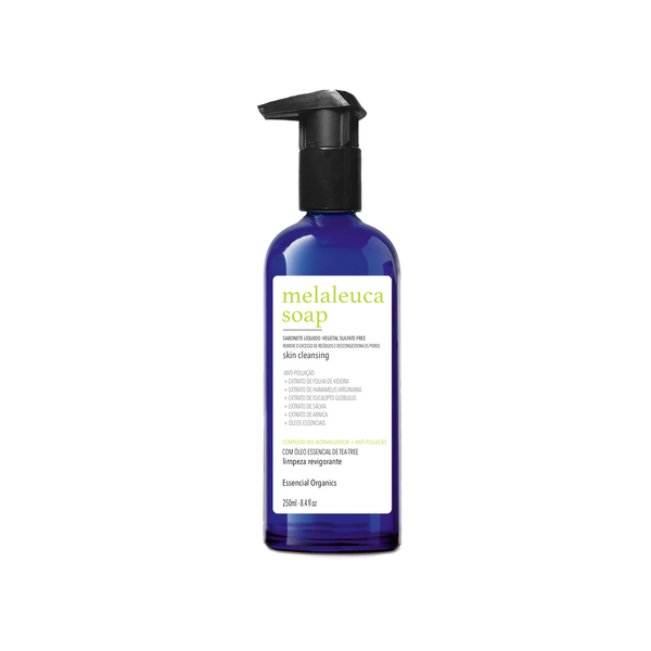 Sabonete Líquido Vegetal Tea-Tree SULFATE FREE 250ml - Essencial Organics
