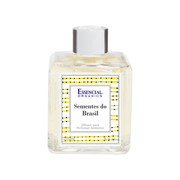 Difusor Sementes do Brasil 250ml - essencial organics