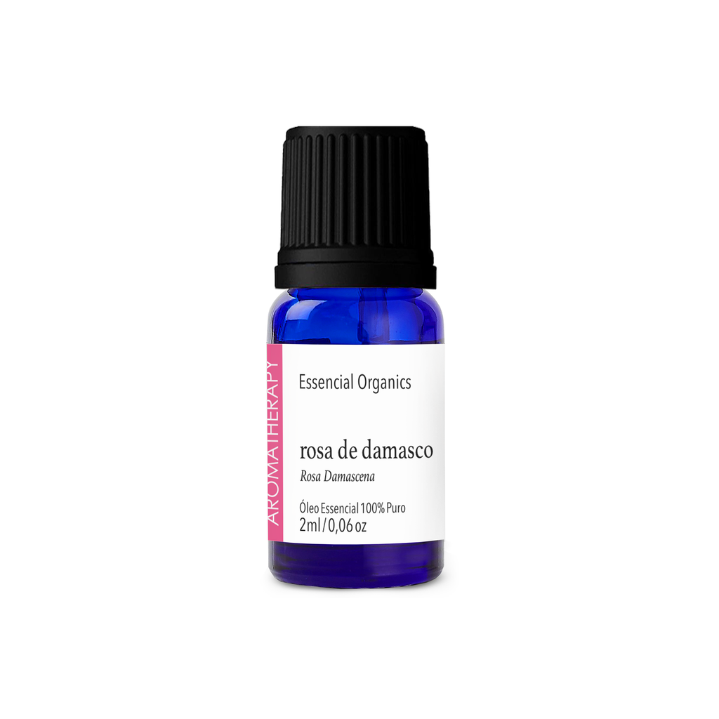 Óleo Essencial de Rosa Damascena 2ml - Essencial Organics