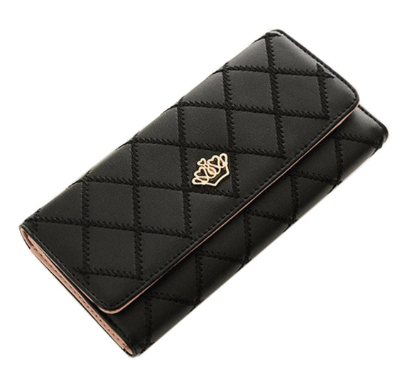 Queen crown elegance wallet