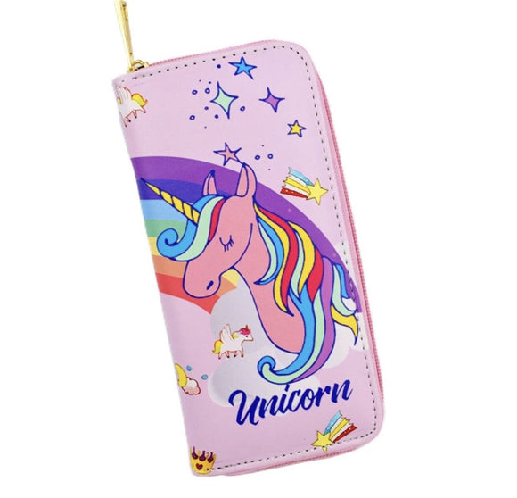 Dream rainbow unicorn wallet