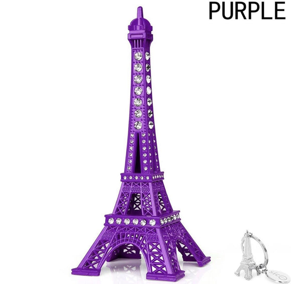 Small Eiffle Tower decor with crystals