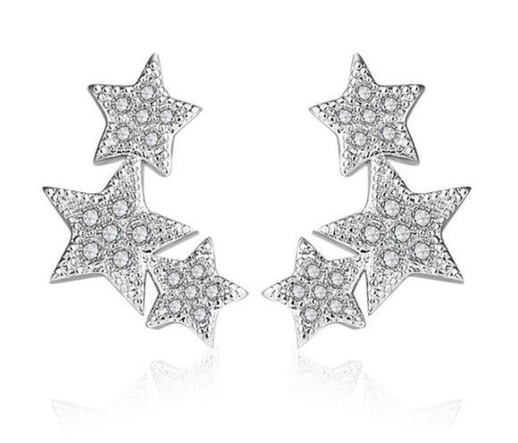 Stars stud earrings