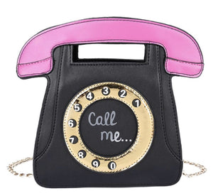 Telephone bag purse fashion bag