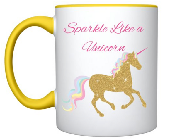 Sparkle like a unicorn mug