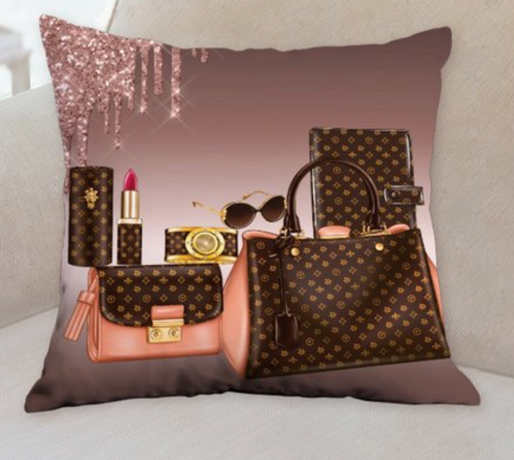 Fashion girl pillow 2