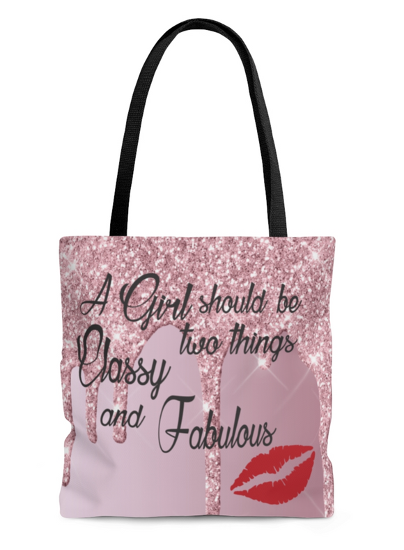 Classy and Fabulous Tote Beach bag