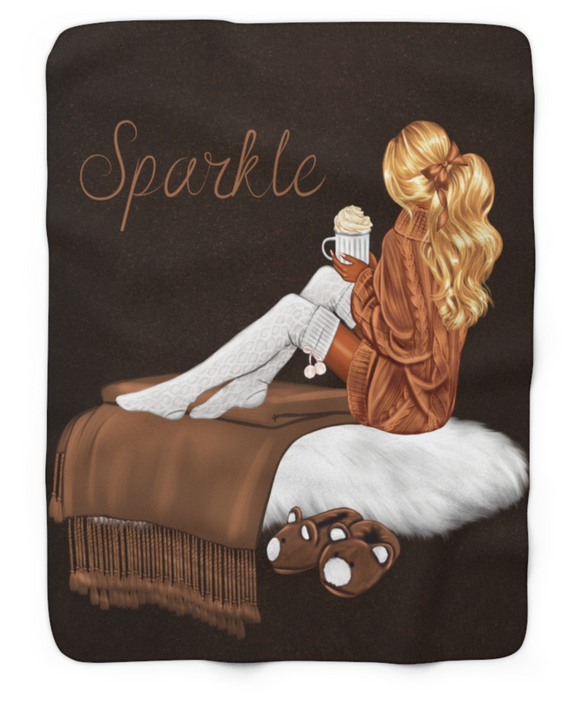 Sparkle Girl blanket