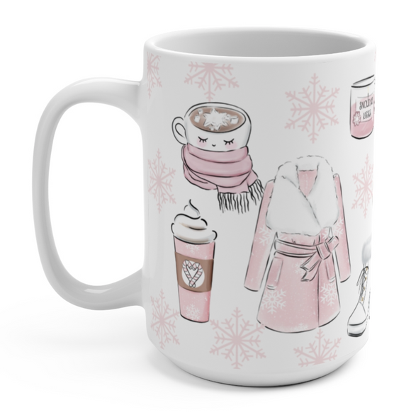 Cozy Pink Coffee Mug