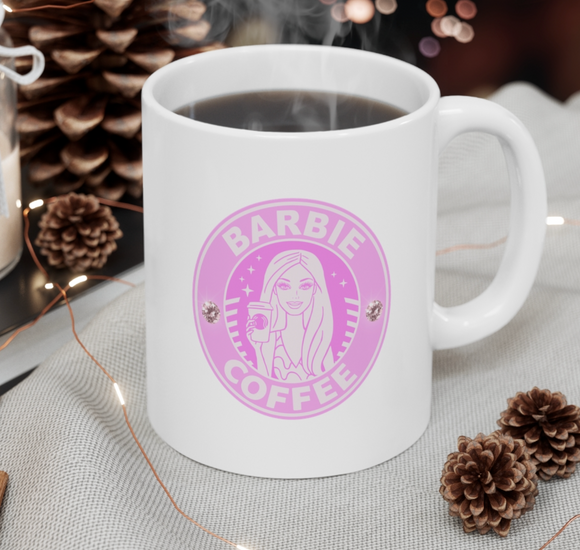 Barbie Coffee Mug