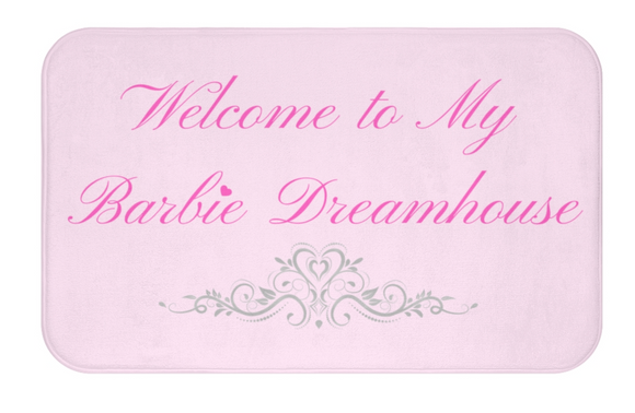 Barbie Dreamhouse mat