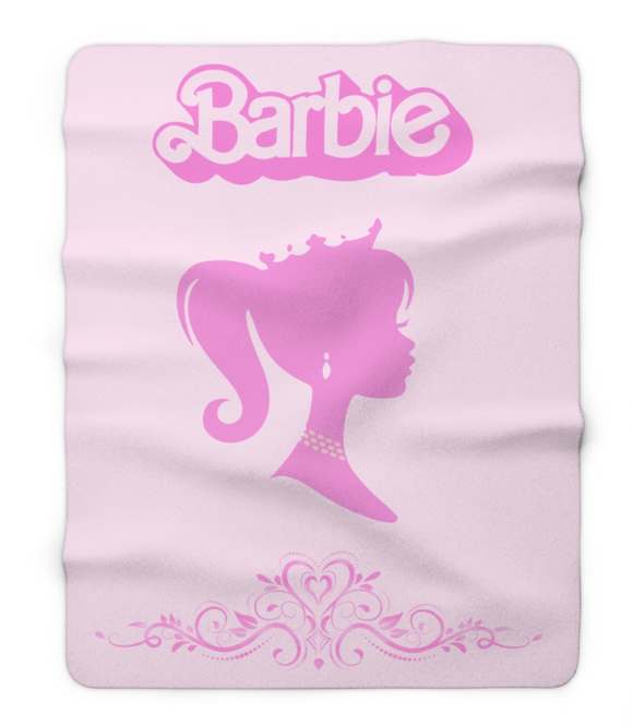 Barbie Sherpa Blanket
