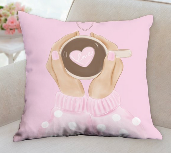 Coffee Love Pillow