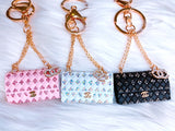Glam Purse Bag Charm