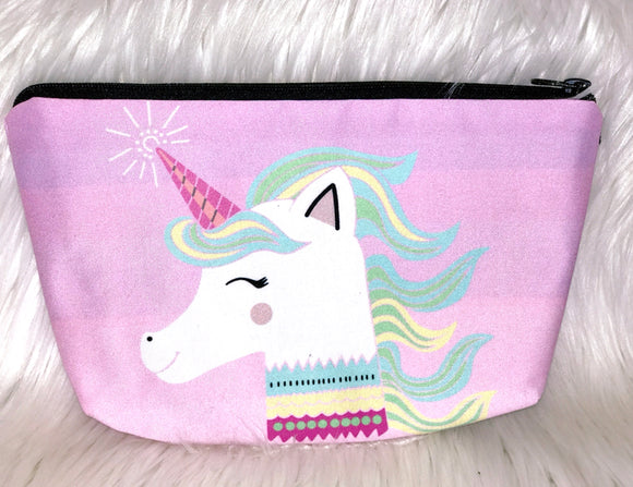 Happy Unicorn makeup bag