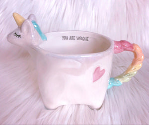 Heart Unicorn mug