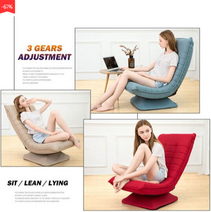 Moon Foldable Rotating Leisure Lazy Sofa Cover