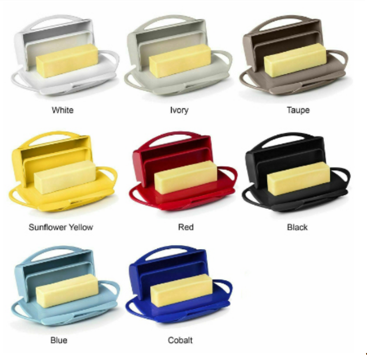 Butter Dish For Countertop or Refrigerator, BPA Free