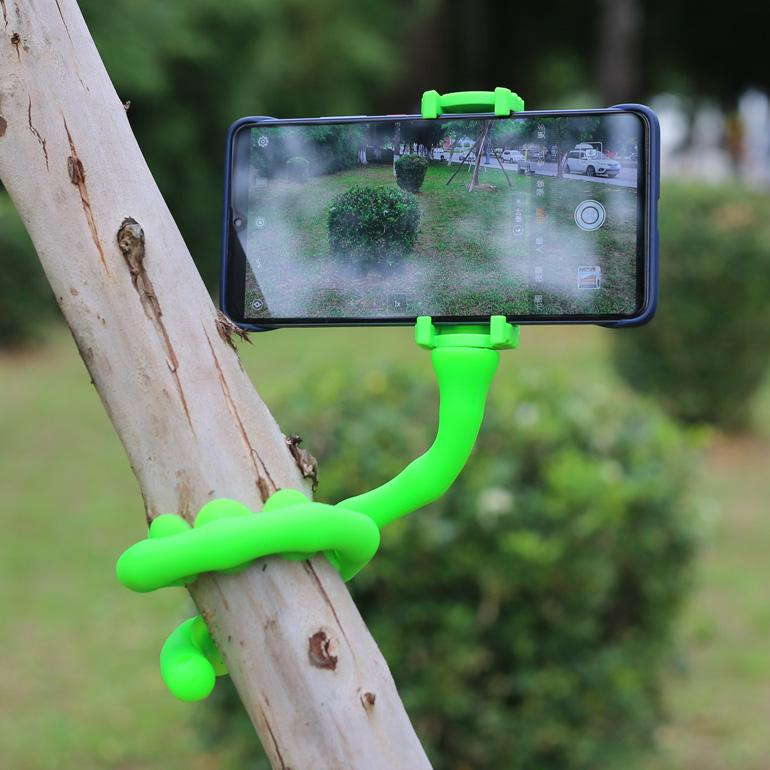 Creative lazy mobile phone holder