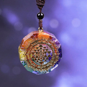 Orgonite Chakra Necklace
