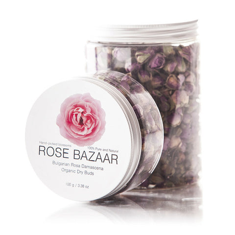 Rosa Damascena Dried Buds - High Vitamin C