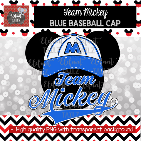 Team Mickey Blue
