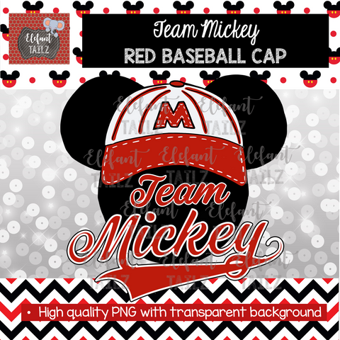Team Mickey Red