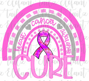 Breast Cancer Cure Rainbow